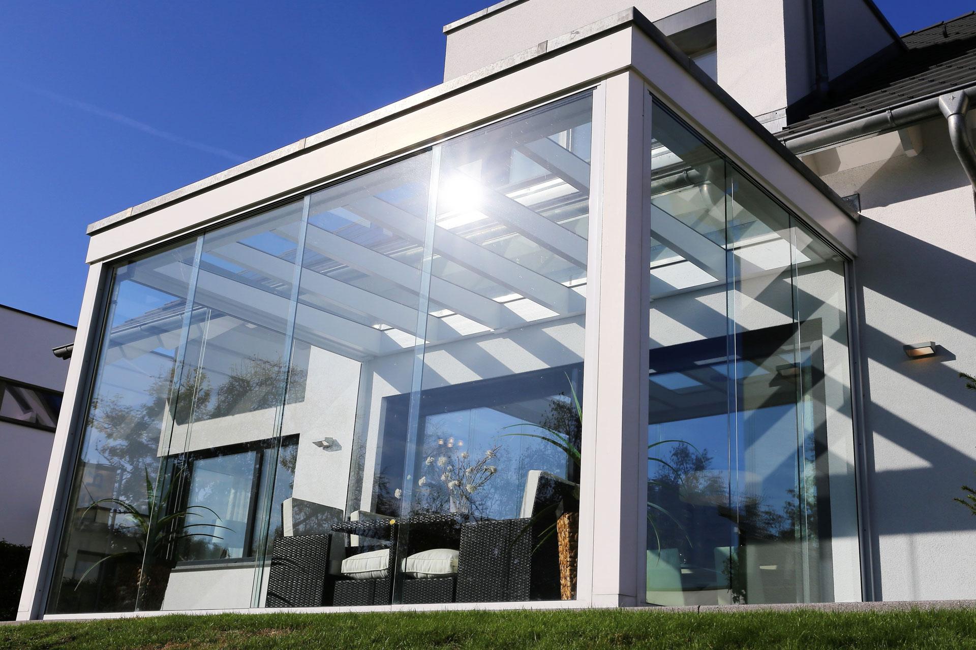 Rieser-Fenster Leistungen Wintergarten